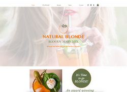 Natural Blonde Bloody Mary Mix