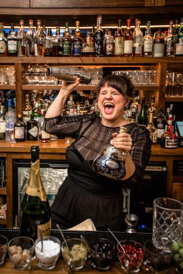 Megan Deschaine of Doar Bros. cocktail bar.