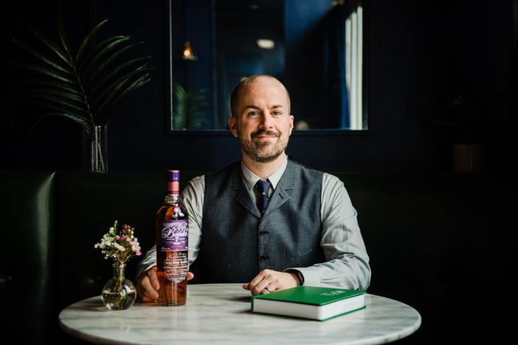Bartender Jim Meehan with Banks Fine Rums