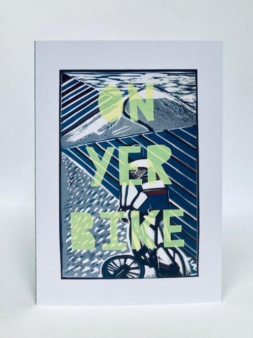 On Yer Bike Card