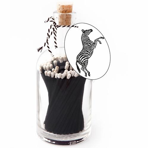 Zebra Match Bottle