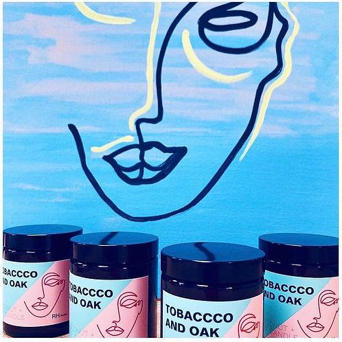 Tobacco+Oak Candle