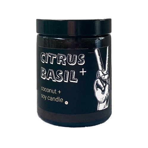 Citrus & Basil Candle