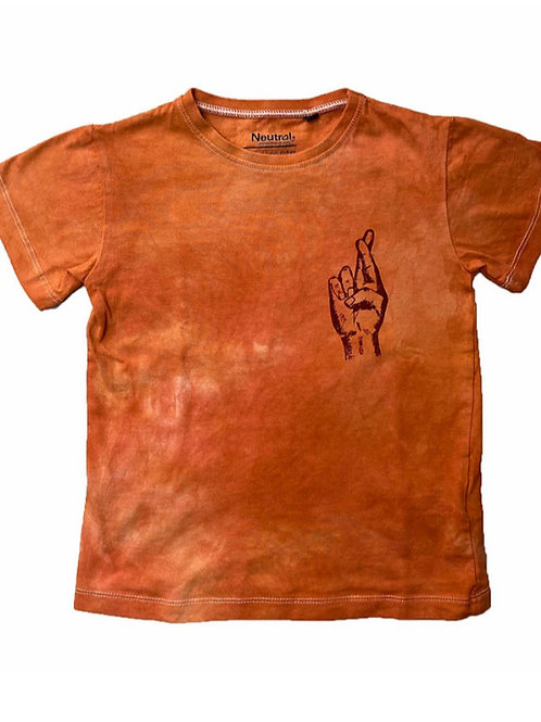 Adult 'Hope' tee in 'Rust'