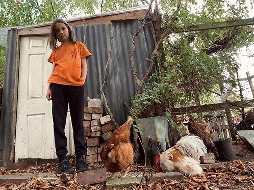 Kids 'Hope' tee in 'Rust'