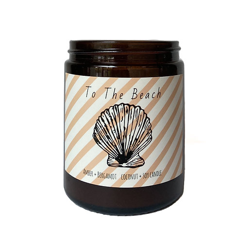 'To The Beach' Candle