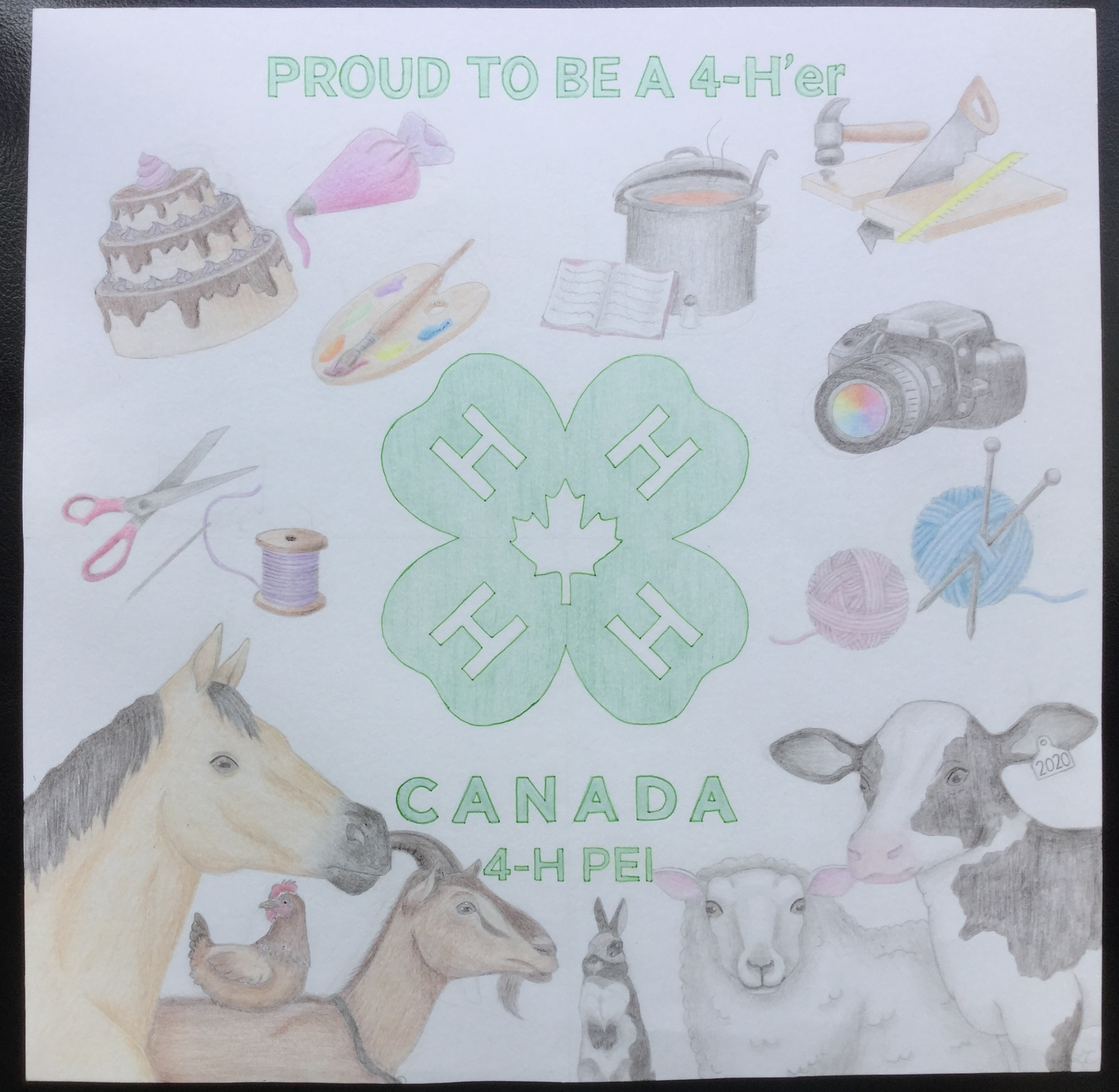 Lauryn Craswell, Cavendish 4-H Club