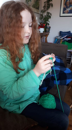 Mary Beaulac, Fort Augustus 4-H Club