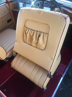Bristol 401 leather seat upgrade pocket