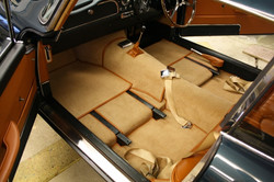 Aston Martin DB4 interior carpet