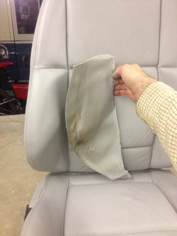 leather car seat repair from Telford