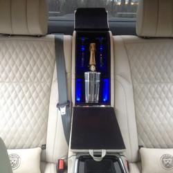 Jaguar rear  champagne console