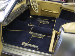 Mercedes classic carpets & interior