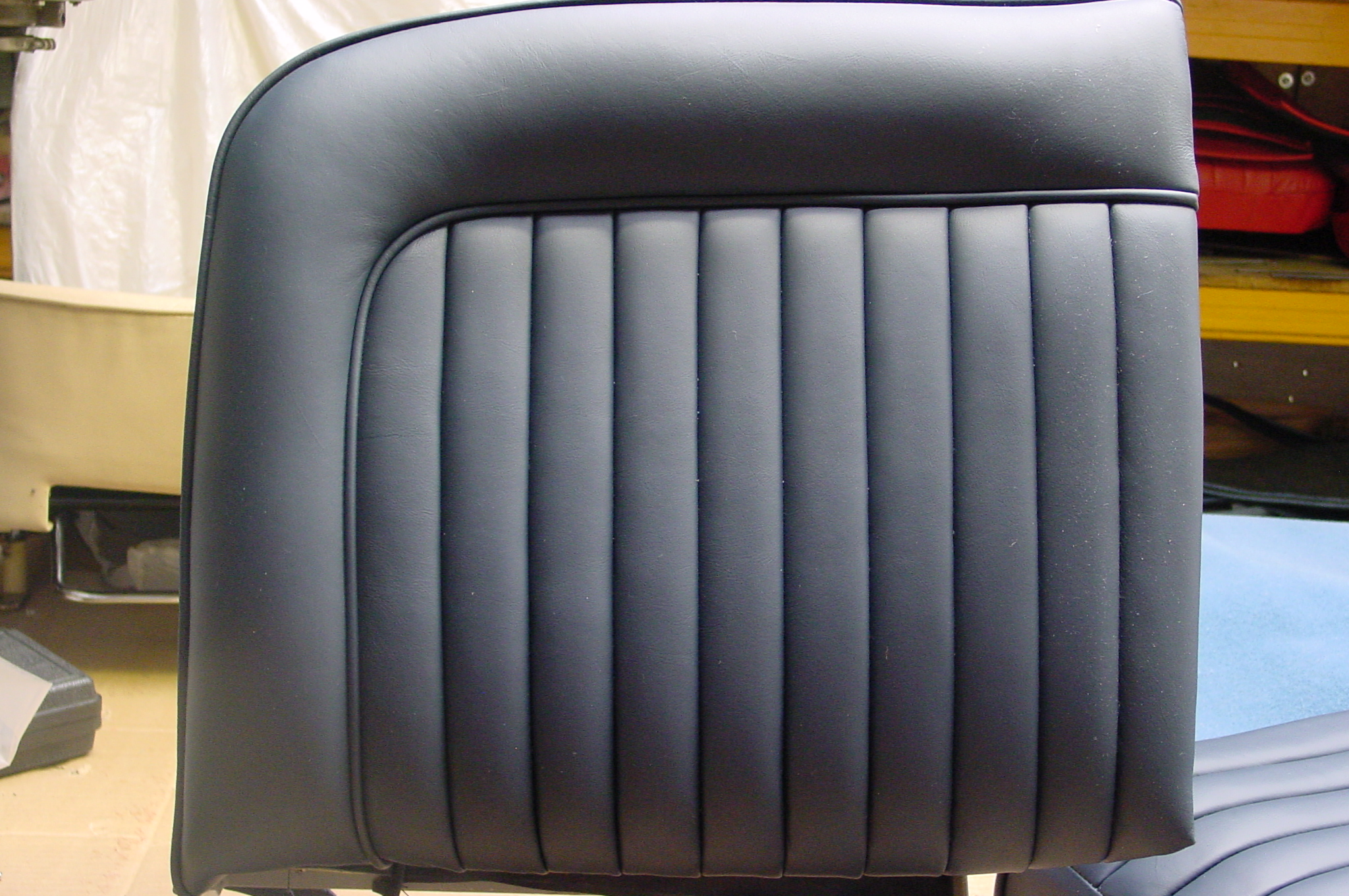 Jaguar xk 150 leather seat covers