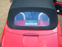 Ford Street KA rear window replacement