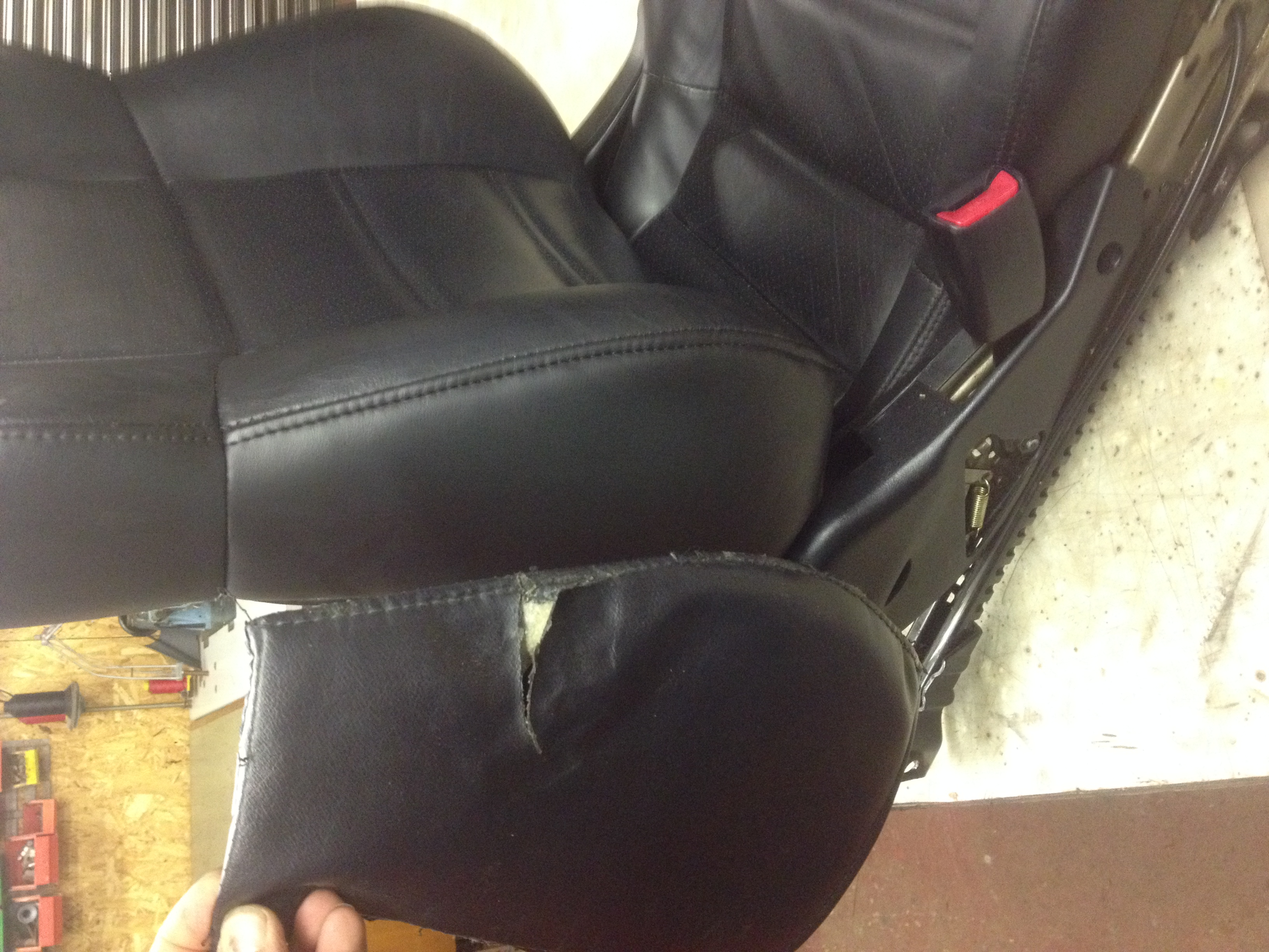 air bag seat repair from Shrewsbury