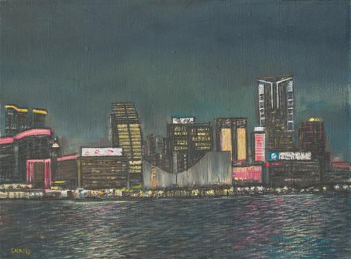 Tsim Sha Tsui by night