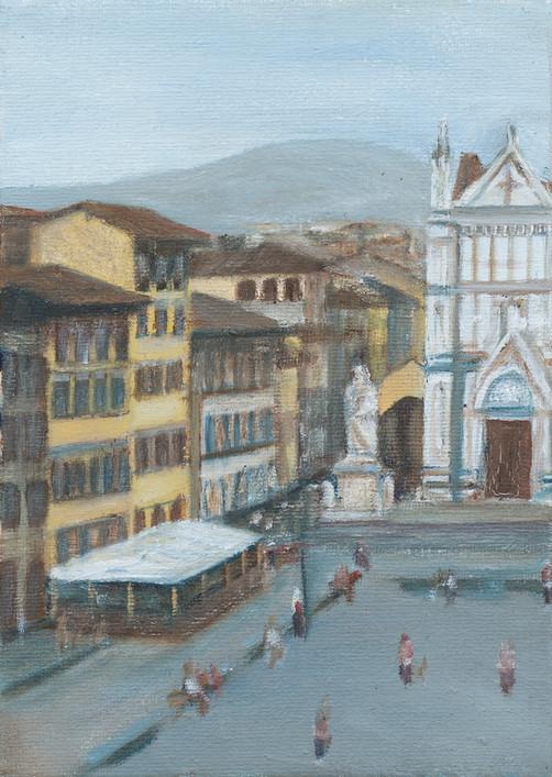 Piazza Santa Croce •