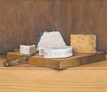 The cheese board •