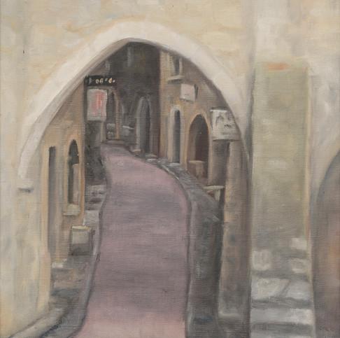 Archway at St Paul de Vence •