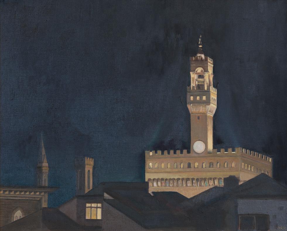 Palazzo Vecchio by night