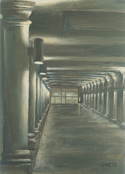 The colonnade •