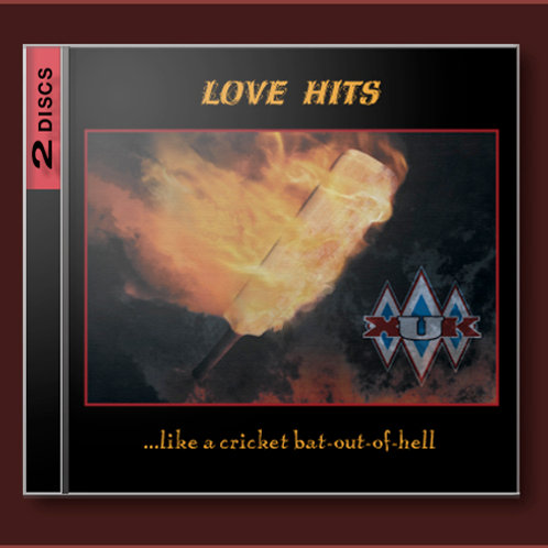 Love Hits ...like a cricket bat-out-of-hell (double CD)