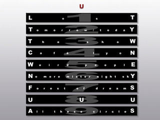 """About the Songs on """"U"""""""