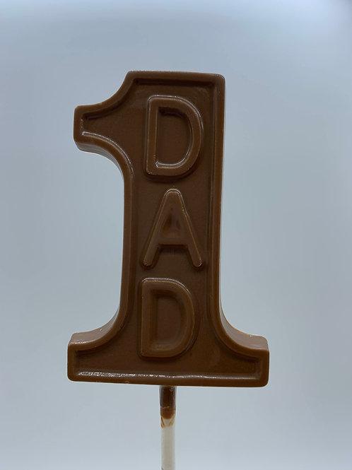 #1 Dad Lollipop