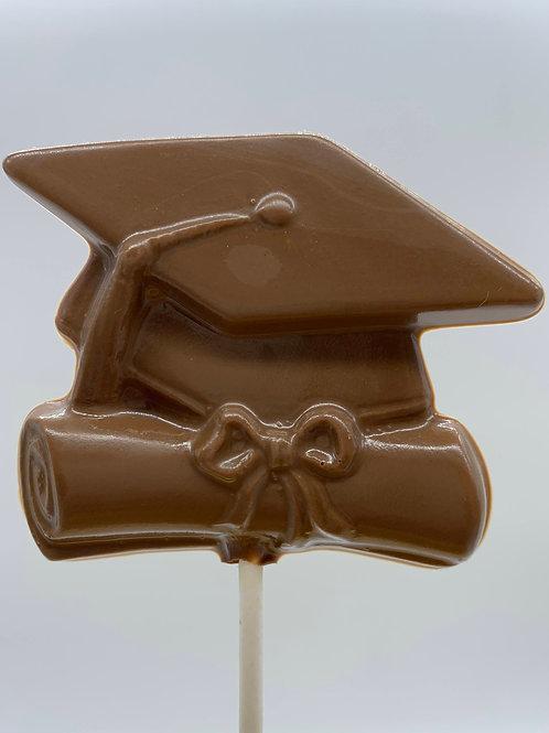 Grad Cap and Diploma Lollipop