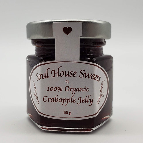 100% Organic Crabapple Jelly