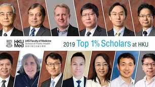 Top 1% Scholars at HKU
