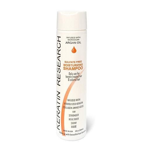 Keratin Research Sulfate Free Moisturizing Shampoo