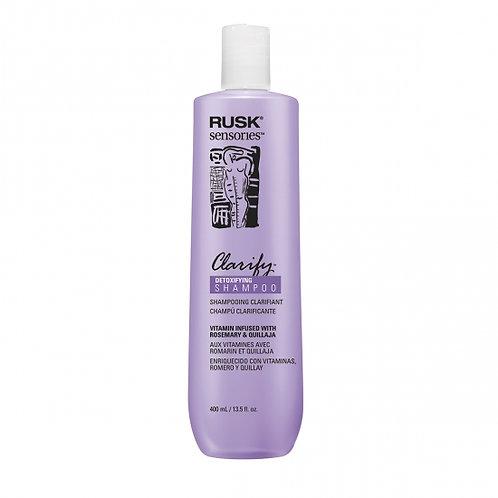 Rusk Sensories Clarify Rosemary & Quillaja Detoxifying Shampoo