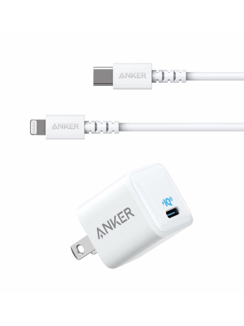 Cable Anker PowerLine Select USB-C to Lightning 3ft+ Adaptador Powerport 3N 18W