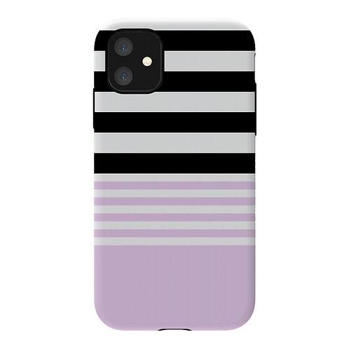 Funda ArtsCase pink black For iPhone 11
