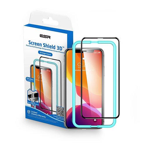 Vidrio Templado ESR Completo For iPhone 11/XR Con marco Aplicador