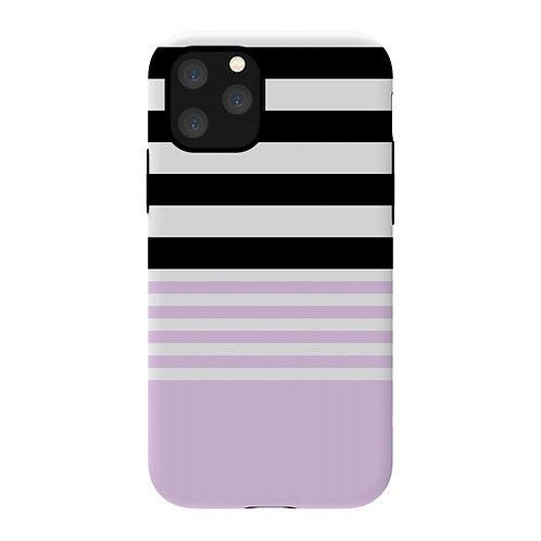 Funda ArtsCase pink black For iPhone 11 Pro Max
