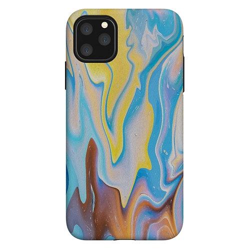 Funda ArtsCase Abstract Marble-II Para iPhone 11 Pro Max