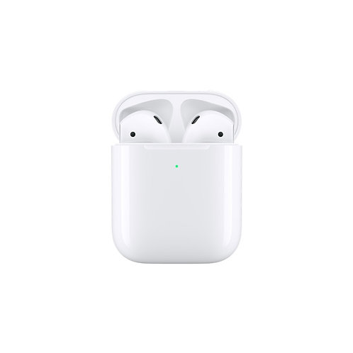 Apple AirPods 2 Generación Wireless Earphones con estuche de carga inalámbrica