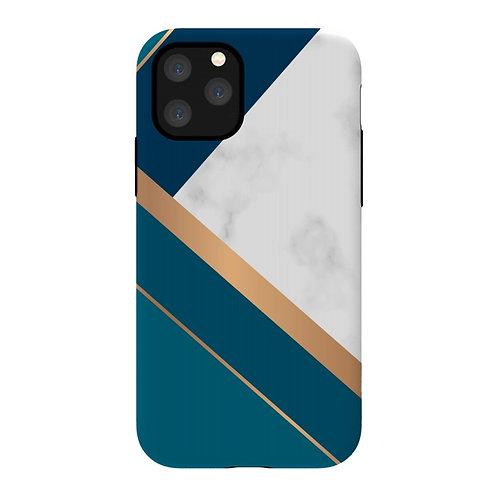 Funda ArtsCase Marble gold para iPhone 11 Pro