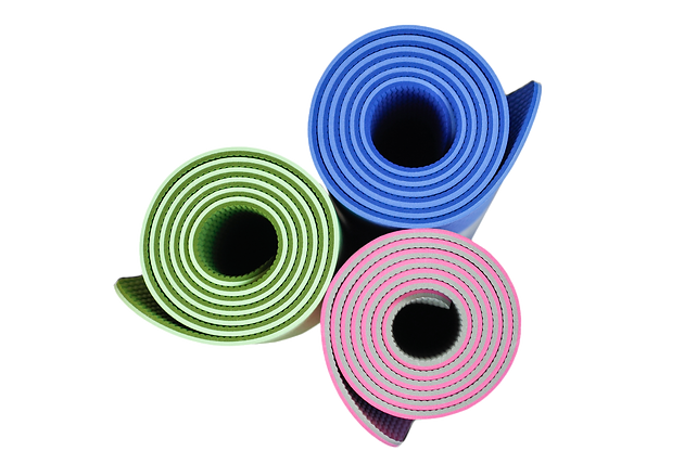 KeenFlex yoga mats - colour range