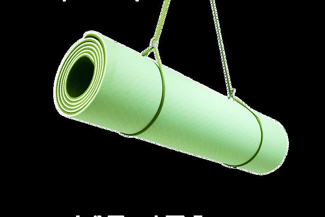 KeenFlex yoga mat - green