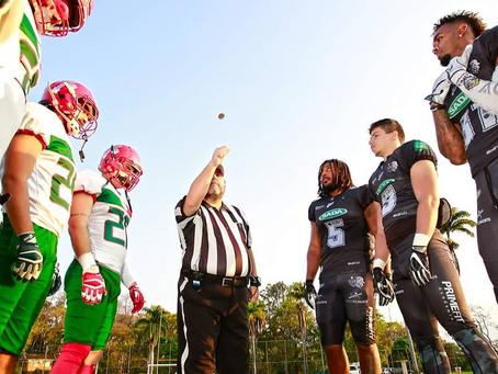 Conheça o 1º Curso Nacional de formação de Árbitros de Futebol Americano