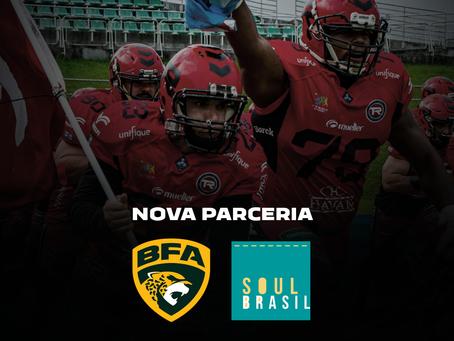 Liga BFA e Soul Brasil Esportes fecham parceria estratégica