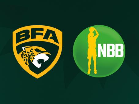 Liga BFA participa de treinamento com representantes do NBB