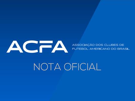 ACFA: Atualizações sobre a Associação de Clubes
