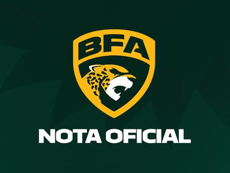 Liga BFA abre pré-inscrição para novas equipes
