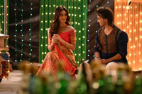 Aayush Sharma & Warina Hussain