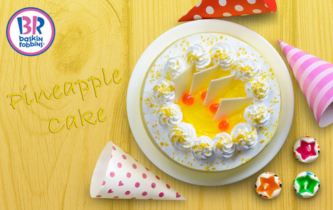 Baskin Robbins - Pineapple Cake